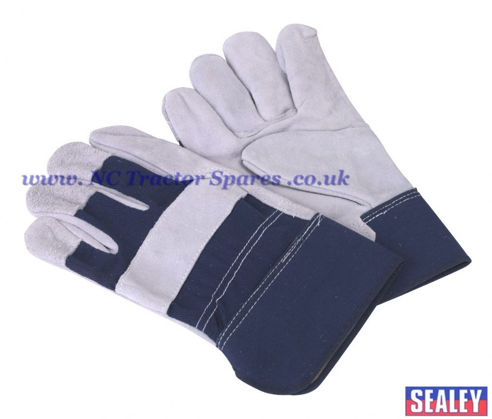 Rigger's Gloves Chrome Palm Heavy-Duty Pair